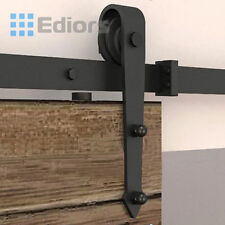 Door Hardware Rustic Steel Sliding Barn Door Roller Replacement Bracket Interior
