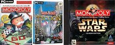 monopoly & star wars monopoly & monopoly tycoon