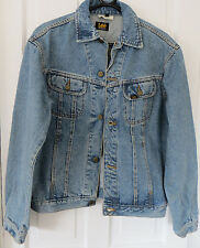 Classic Lee Rider Denim Jacket ~ Size M ~ Genuine Vintage 1990's