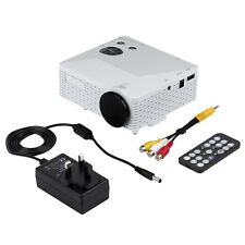 Portable Mini LED Projector with USB VGA HDMI AV Multimedia for Party Home QK