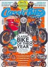 CLASSIC BIKE MAGAZINE-January 2014 Issue - (NEW COPY)