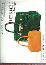 GROS & DELETTREZ HERMES Vintage Handbags Kelly Birkin Auction Catalog 2012 03