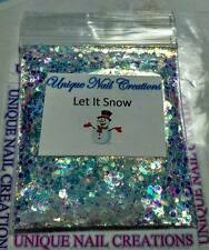 Limited Edition Glitter Mix~Let It Snow* Comes With Alloy~ Nail Art