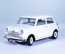 TC65 NEW Classic Morries Mini Minors 1:18 1/18 White Diecast Car Model Kyosho