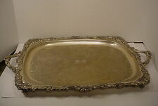 Vintage Silverplate Large Serving Tray