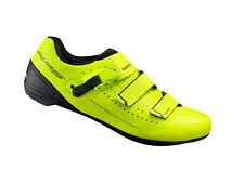 Scarpe bici corsa Shimano RP5 giallo lime Road bike shoes yellow SPD SL 42-46