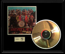 BEATLES SGT. PEPPER LONELY HEARTS CLUB BAND 1967 LP GOLD RECORD AWARD DISC RARE