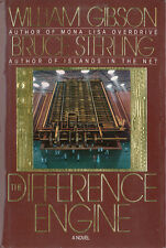 William Gibson Bruce Sterling Difference Engine 1/1 HC DJ Double Signed