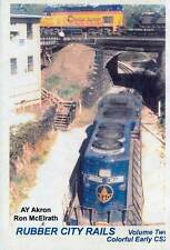 Rubber City Rails Volume 2 Colorful Early CSX DVD Akron Ohio L&N NS W&LE