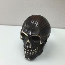 New BLACK RESIN SKULL  DOOR/DRAWER KNOB HANDLE PULL Kitchen Home Bedroom