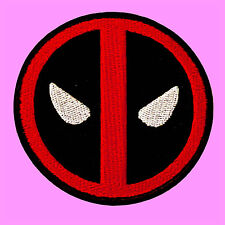 Dead Pool Logo Comics Marvel X-Men Cartoon Kids Embroidered Iron On Patch