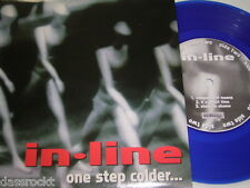 "7"" - In Line / One step colder + 4 Track - BLUE WAX 1996 MINT # 3824"
