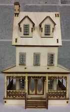 Abriana Large Country Cottage 1:48 Scale Dollhouse, free domestic Shipping!!