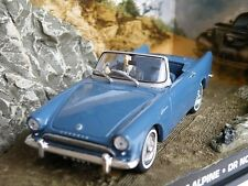 JAMES BOND SUNBEAM ALPINE 1/43 SCALE DR NO CAR DIORAMA PACKAGED ISSUE K8967Q~#~