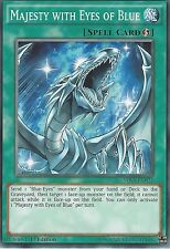 YU-GI-OH CARD: MAJESTY WITH EYES OF BLUE - SDKS-EN021 - 1st EDITION