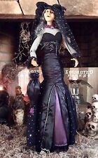 "Halloween Bella Lux Salem Witch Doll Collectable decoration standing 32""Tall"