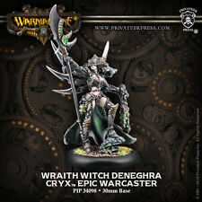 Warmachine BNIB Cryx Epic Wraith Witch Deneghra RESCULPT 34098