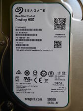 Seagate ST500DM002 | PN: 1SB10A-300 | FW: CC43 | WU | 500 GB