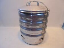 Vintage Stacking Camping Aluminum Cookware Set by Mardigan a Buckeye Product USA