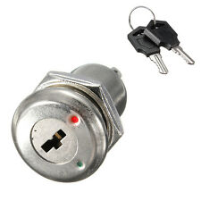 Zinc Alloy Electronic On Off Two Terminals Keys Switch Lock Switch + 2 Keys