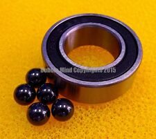4 PCS 15268-2RS (15x26x8 mm) Hybrid Ceramic Si3N4 Rubber Sealed Bearing Bearings