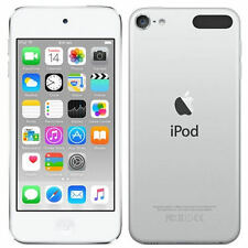 "New Imported Apple iPod Touch 32GB 4"" 8MP VGA 6th Generation Silver Color"