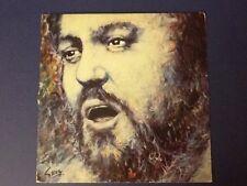 LUCIANO PAVAROTTI ~ Verismo Arias CLASSICAL OPERA ~ 1980 LP  LDR 10020  NM-!!!