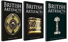 LIBRI British Artifacts all1/2/3 volumi in ritardo Sassone in ritardo Viking. tutto quell'oro
