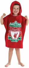 Childrens Kids Liverpool Football Club Poncho Towel 100% Cotton - 60x120cm