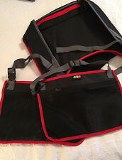 Car Seat Travel Tray Kids Two Headrest Bags Never Used EC