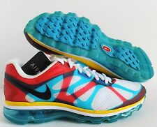 NIKE MEN AIR MAX+ 2012 NRG US OLYMPIC WHAT THE MAX SZ 8.5 [532307-100]