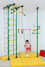Kid's Home Gym Indoor Playground Set School with Swing - Carousel R33