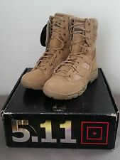 "New! 5.11 Taclite 8"" Coyote Boot, Size 8R - Men's 5.11 Tactical 12031"