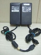 LOT 2 Dell DA-2 AC Power SUPPLY Adapter ADP-220AB B Y2515 & D3860 ZVC220HD12S1