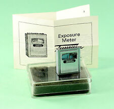 Original Tessina Exposure Meter in orig. Tessina plastic container & instruct.