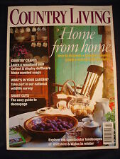 Country Living Magazine - February 1998 - Decorate a Georgian house