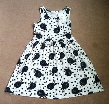 "Bnwt H&M Girls ""Rabbit"" Print Summer Dress Age 2-3-4 Years Next Season"