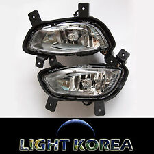 Fog Light Lamp, Connector 4EA 1SET Genuine Parts For KIA RIO 4D 2012 2013 2014
