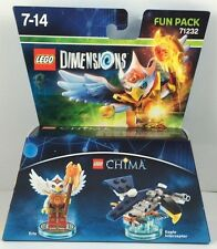LEGO dimensions fun pack Chima Eris + EAGLE intercepteur 71232 nouveau OVP disponible