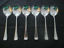 Wmf Jupiter 6 soupes tasses cuillère/crème cuillère 6 pièces 16,5 cm note 1-cuillère top