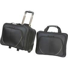 2pc Trolley Business/Overnight Bag Luggage Suitcase with Laptop Computer Bag