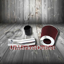 Short Ram Air Intake Kit Polish Pipe Red Filter for Acura 04-08 TL 3.2L 3.5L V6
