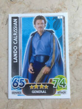 STAR WARS Force Awakens - Force Attax Trading Card #007 Lando Calrissian