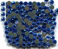 1440 Rhinestones 3mm 10ss AB BLUE HotFix  10 Gross