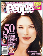 People Magazine May 14 2001 Catherine Zeta-Jones Katie Couric EX 012216jhe