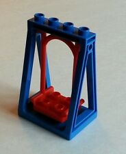 Lego Duplo Red Functional Playground Swing on Blue Frame
