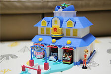 Robocar Poli Rescue Center Station PlaySet Headquarter Track with JIN figure