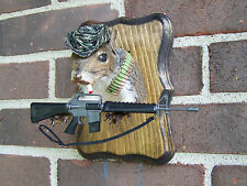Squirrel Mount, Gray Squirrel,Taxidermy, Hunting, Cabin, Man Cave, Lake House