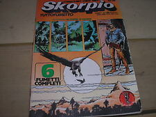 SKORPIO ANNO 1 NUMERO 9 1977 CON POSTER SALINAS ALLEGATO