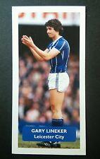 Inglaterra-Leicester City-Gary Lineker Puntuación Tarjeta De Comercio De Fútbol UK